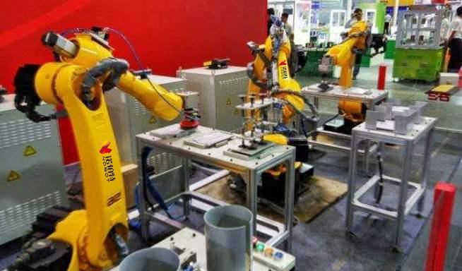 自动打磨机器人